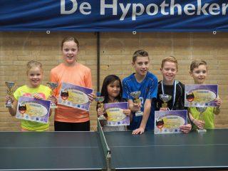 Kinder Tafeltennis Feest 2016 Groep 5&6