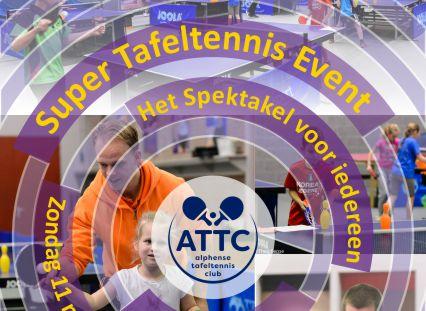 ATTC Super Tafeltennis Event