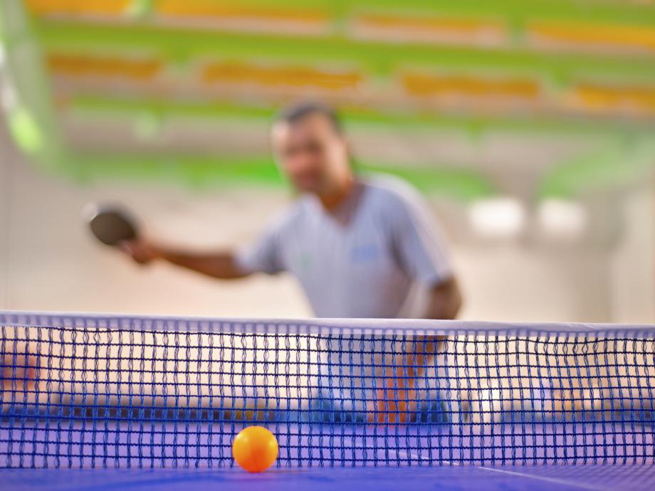 Afbeelding met gras, persoon, hek, tennis  Automatisch gegenereerde beschrijving